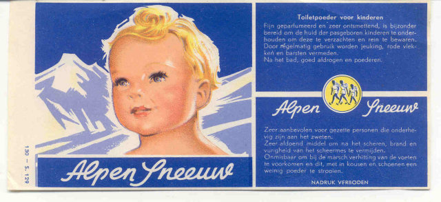 Alpen Toilet Paper Label
