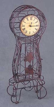 Metal Wire Clock
