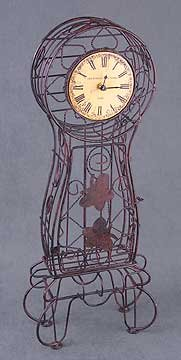 Metal Wire Clock