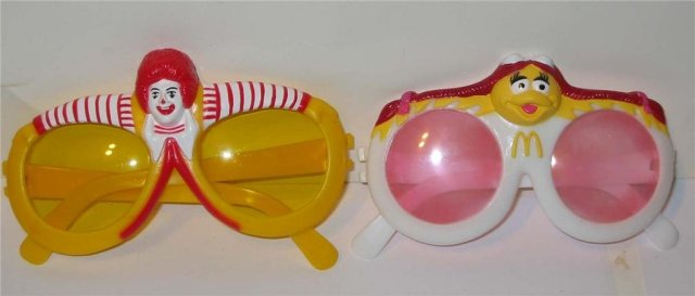 Ronald McDonald Sunglasses Toy