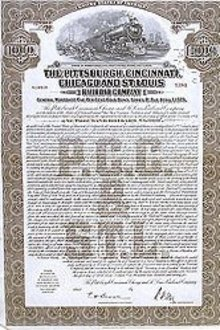 Railroad Bond Certificates