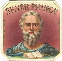 Silver Prince Cigar Label
