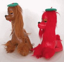 French Poodle Autograph Toy DOGS
