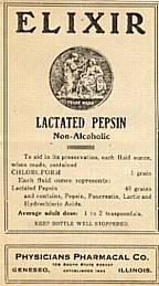 Chloroform Elixir Medicine RX Label