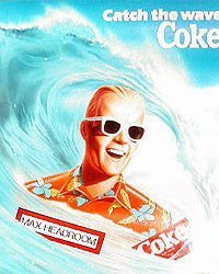 Max Headroom Coca-Cola Soda Poster