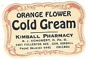 Orange Cream Beauty Labels