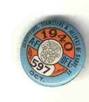 VINTAGE 1940 TEAMSTERS UNION PIN
