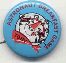 Tony the Tiger Pinback Pin