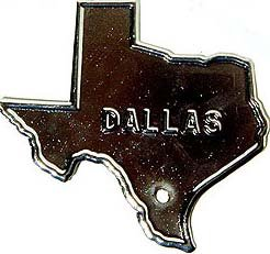 Dallas License Plate Topper 1947