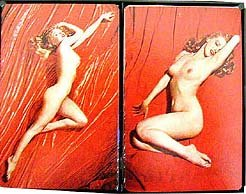 2 VINTAGE MARILYN MONROE NUDE CARD DECKS FULL