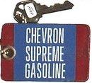Porcelain Chevron Gas Bathroom Key