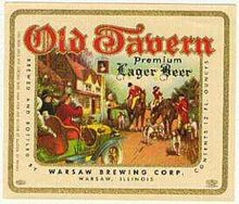Old Tavern Beer Label