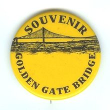 Golden Gate Bridge Pinback