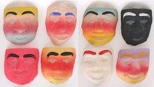 Halloween Gauze Shadow Box Masks 1940s