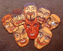 Devil Friends Halloween Masks 1930s