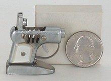 Occupied Japan Pistol Lighter