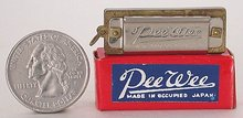 Harmonica Toy - Occupied Japan Pee Wee