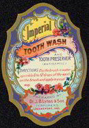 AntiqueToothpaste Label 1900s - Dr. Lynas