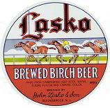 Lasko Birch Beer Label