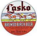 Lasko Birch Beer Label