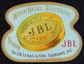 Witch Hazel Glycerine Soap Label