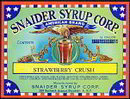 Snaider Brooklyn Strawberry Crush Label