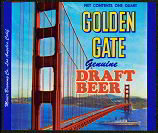Golden Gate California Beer label