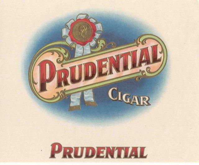 Prudential Cigar Label