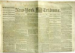 VINTAGE CIVIL WAR NEWSPAPER 1860S