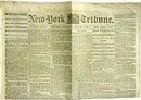VINTAGE CIVIL WAR NEWSPAPER 1860S
