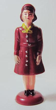Brownie Scout Figurine Statue