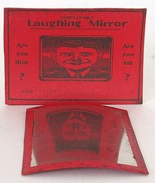 Japan Funhouse Mirror Toy in Original box