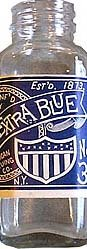 American Extra Bluing Bottle Blue