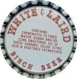 White & Laird Birch Beer Soda Bottle Caps