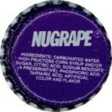 Nugrape Soda Bottle Cap