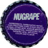 Nugrape Soda Bottle Cap