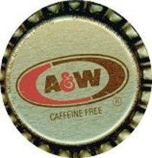 A&W Root Beer Soda Bottle Caps