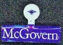 George McGovern Political Tin Tags