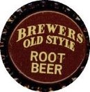 10 VINTAGE BREWER'S ROOT BEER SODA BOTTLE CAPS