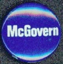 George McGovern Pinback