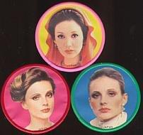 Fashion Model Mirror Toys 1960s Twiggy