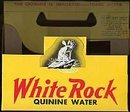 White Rock Quinine Water Bottle Carrier