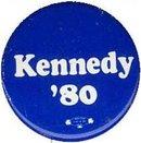 Ted Kennedy Pinback - Vintage Political Memorabilia
