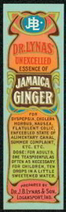 Lynas Ginger Beauty Label