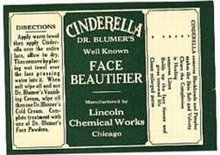 Cinderella Face Beauty Label