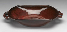NEW EARTHENWARE CINNAMON KITCHEN BOWL
