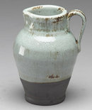 NEW EARTHENWARE PITCHER WITH HANDLE / JUG