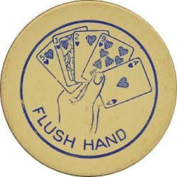Clay Casino Poker Chips