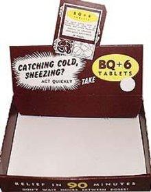 Cough Medicine Display Box