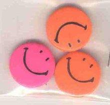 Smile Pinback Pins